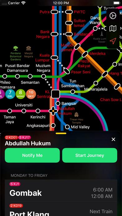 Screenshot #2 pour Kuala Lumpur Metro