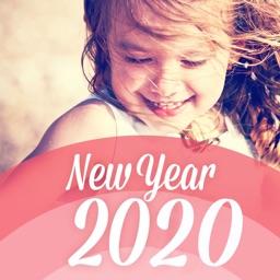 おしゃれ年賀状2020 年賀状アプリ