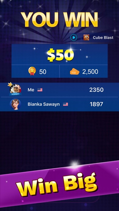 Pocket7Games: Win Cash screenshot 1