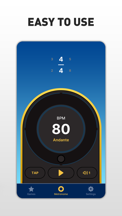 Metronome Max: Beat & Tempo screenshot 2