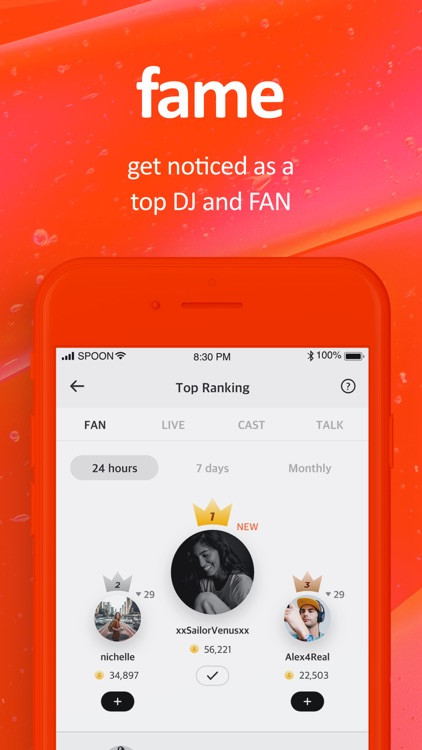 Spoon: Live Stream, Voice Chat screenshot-7