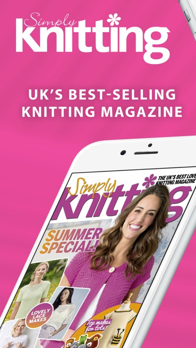 Simply Knitting Magazine Screenshot