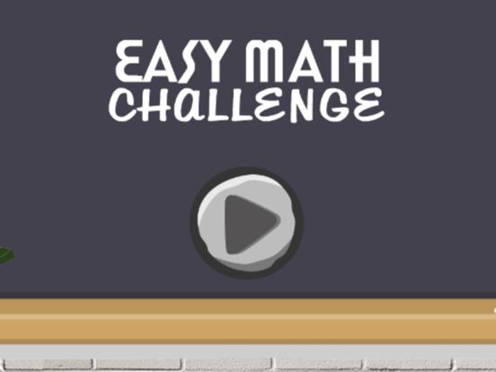 Easy Math Challenge screenshot 3