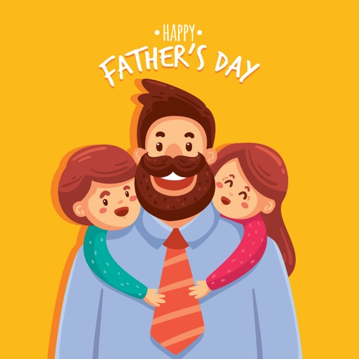 Father's Day Photo Frames Wish