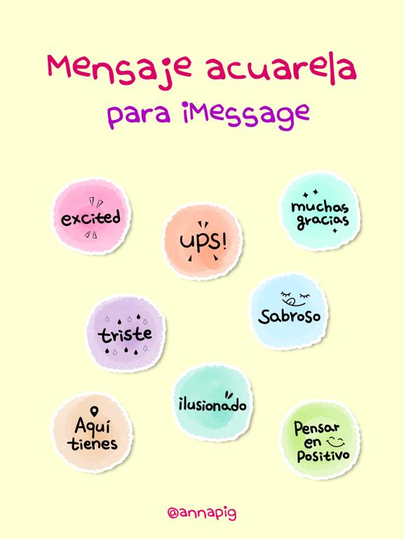 Mensaje acuarela screenshot 4