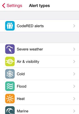 CodeRED Mobile Alert - náhled