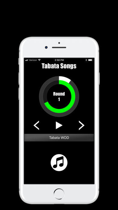 Tabata Songs Screenshots