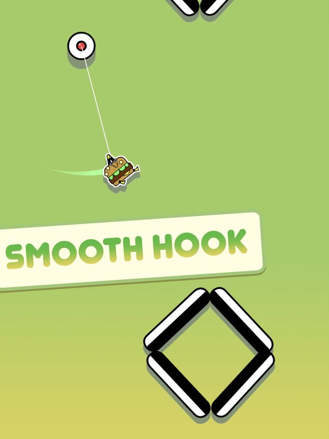 ‎Stickman Hook Screenshot