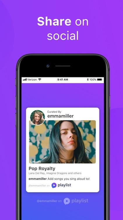 Playlist: Social Music Player screenshot-6