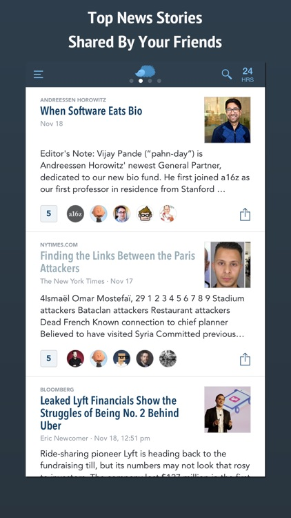 Nuzzel: News for Professionals screenshot-0