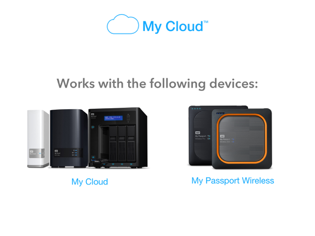 ‎WD My Cloud Screenshot