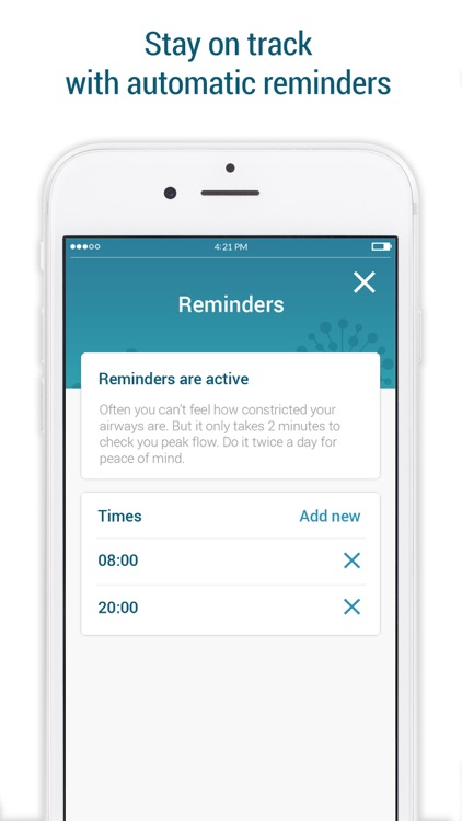 Smart Peak Flow: Asthma Diary screenshot-3