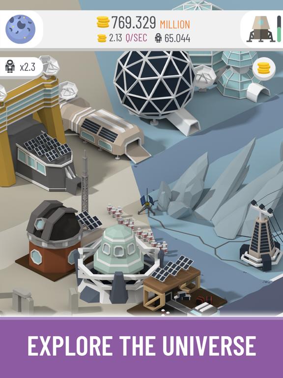 Space Colony: Idle screenshot 2