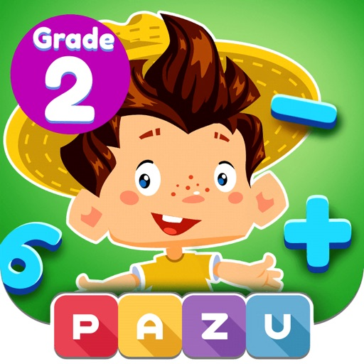 Math Games For Kids - Grade 2 By Pazu Games Ltd