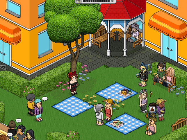 ‎Habbo - Virtuell Welt Screenshot