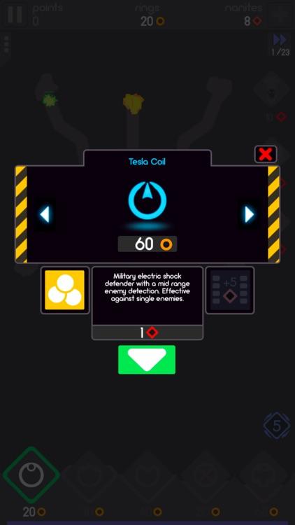 Color Defense - A TD Puzzler screenshot-4