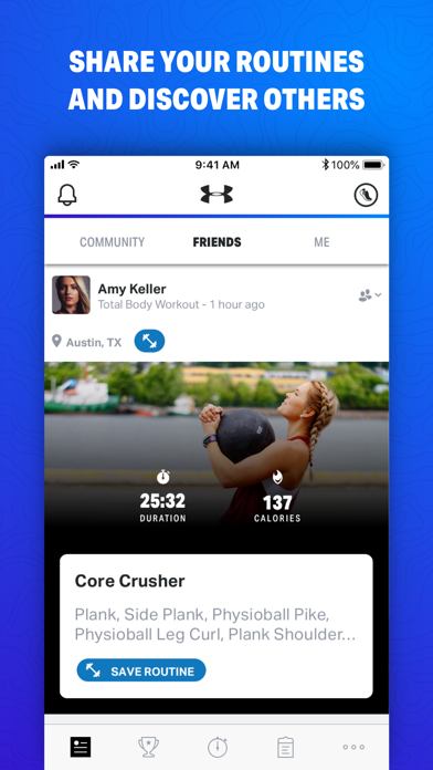 Map My Fitness by Under Armour screenshot four