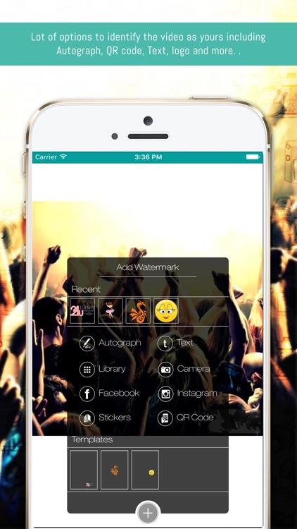 eZy Watermark Videos Lite screenshot-0