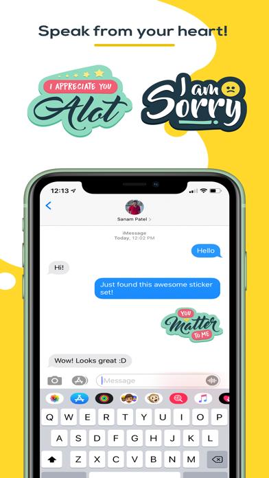 You Matter Sticker Pack screenshot two