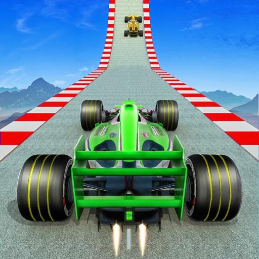 Superhero Formula Racing Cars
