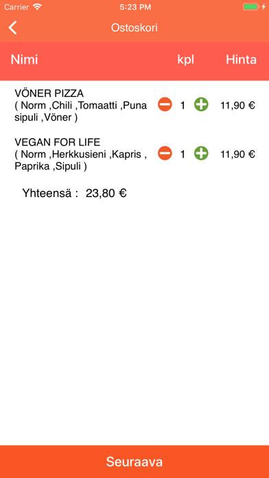 Pizza Service Mankkaa screenshot 4
