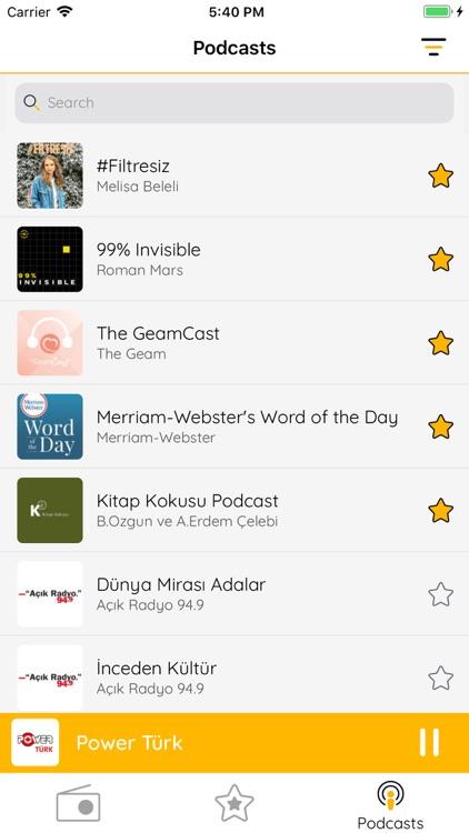 Turkey FM - Radyo & Podcasts screenshot-3