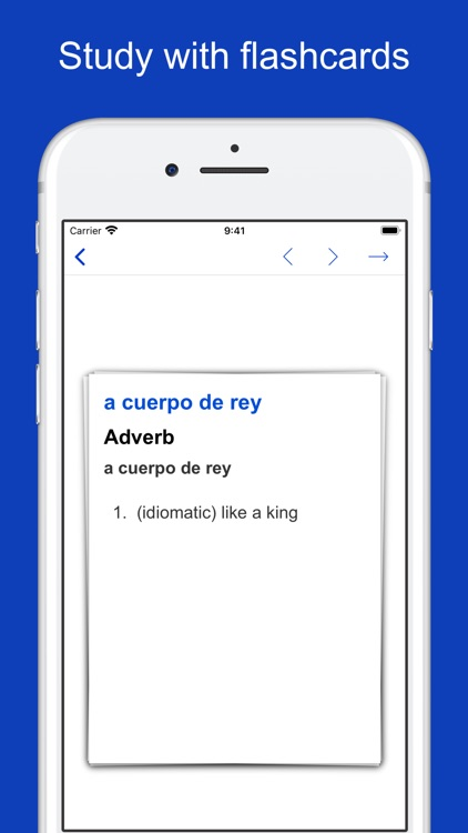 Spanish Idiom Dictionary screenshot-5
