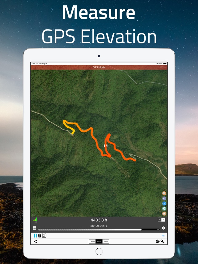 Elevation - Altimeter Map on the App Store
