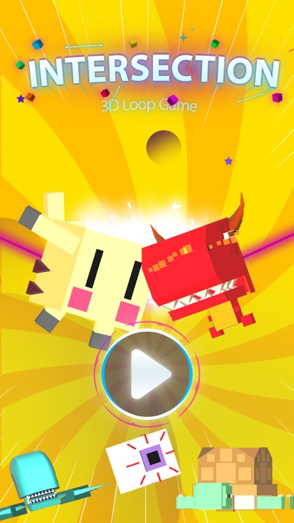 Intersection - 3D Puzzle Game screenshot-0