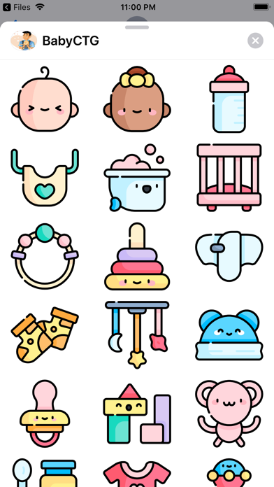 BabyCTG Sticker screenshot 2
