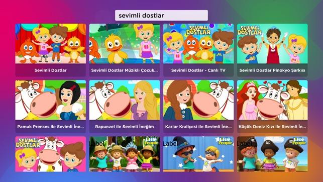 Okidokido çocuk çizgi Film Tv On The App Store