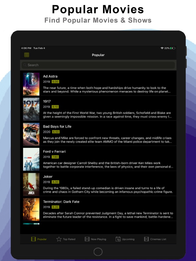 Cinema Hd Movies Tv Shows On The App Store