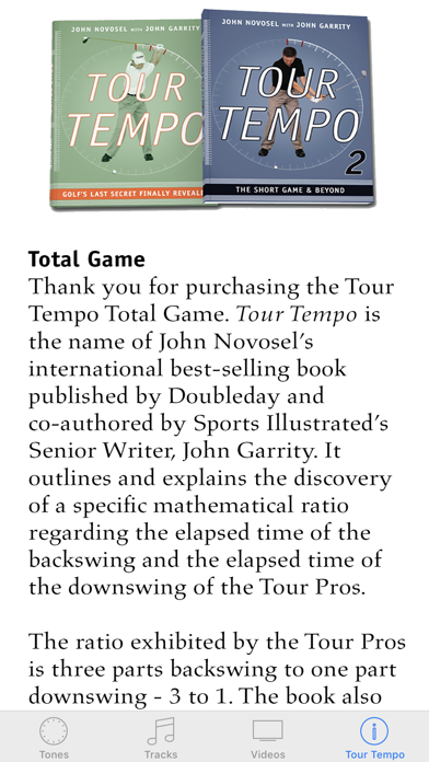 Tour Tempo Total Game review screenshots