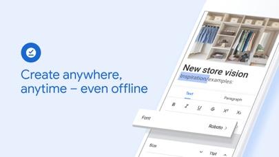 Google Docs: Sync, Edit, Share Screenshot