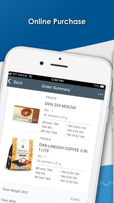 DXN APPScreenshot of 4