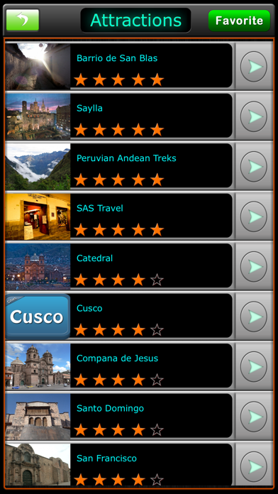 Cusco Offline Map Travel Guide