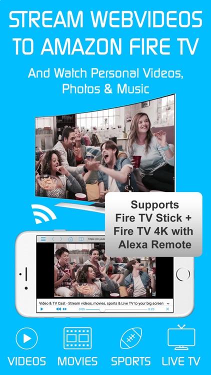 Video & TV Cast + Fire TV App