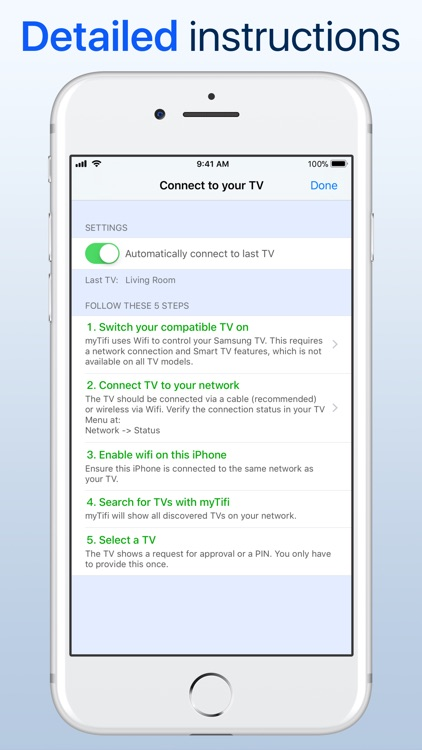 myTifi remote for Samsung TV screenshot-6