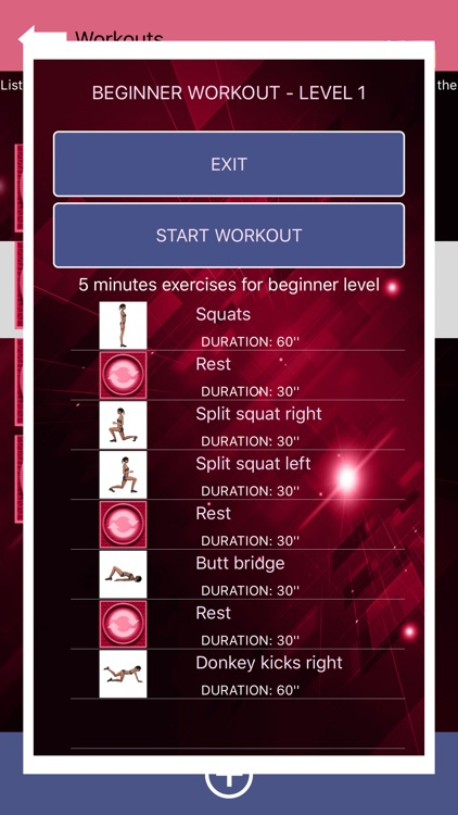 Buttocks Workout - Squat Bot