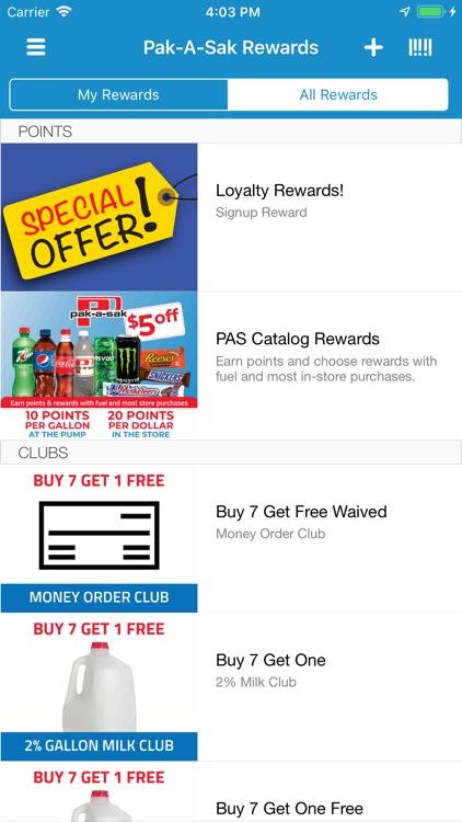 Pak-A-Sak Rewards screenshot-3