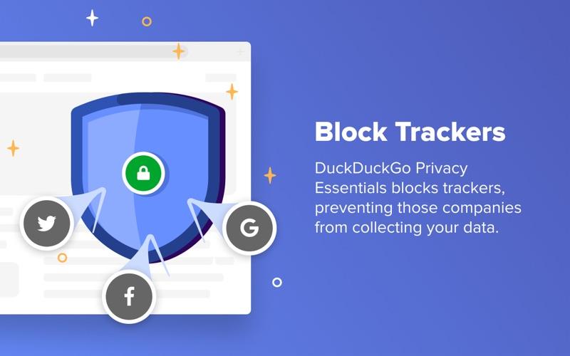 DuckDuckGo Privacy Essentials Screenshot