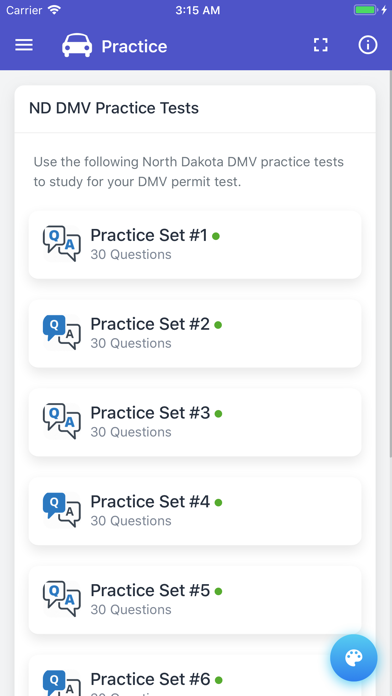 North Dakota DMV Practice Test - App - AppStore