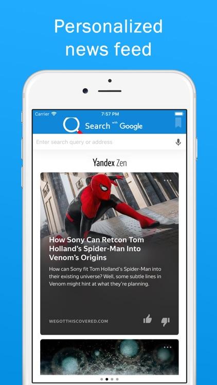 Smart Search & Web Browser screenshot-5