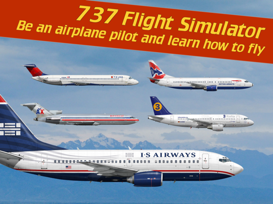 737 Flight Simulator Screenshots