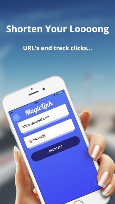Magic Link URL Shortener app image