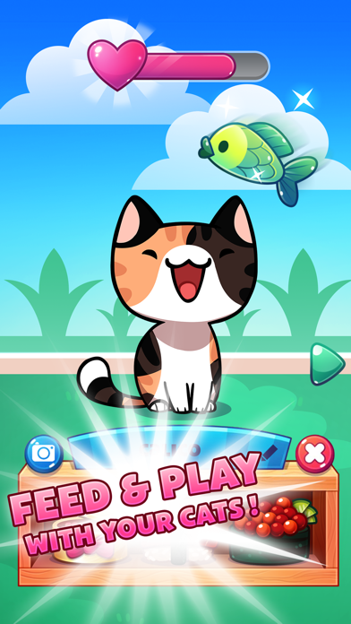 Cat Game - The Cats Collector! screenshot 2