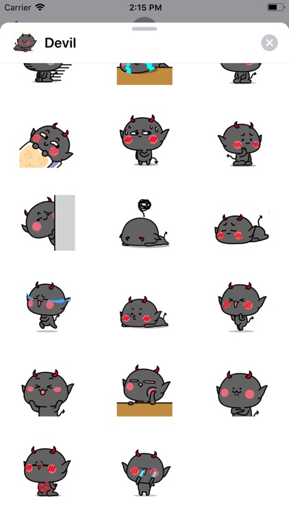 Funny Devil Animated Stickers screenshot-3