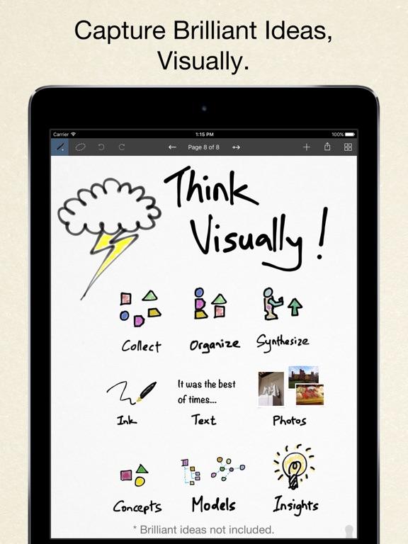 Inkflow Plus Visual Notebook screenshot