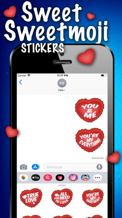 Sweet Sweetmoji Stickers