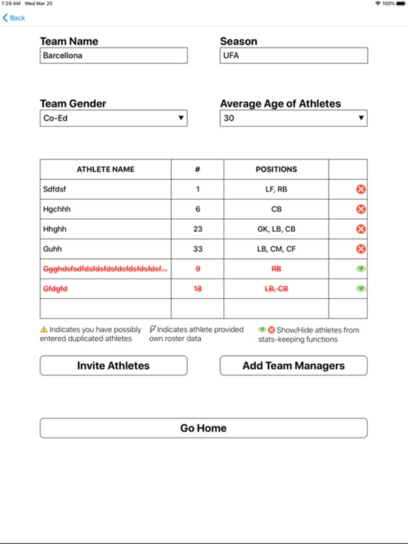 Soccer Substitution Manager screenshot 5